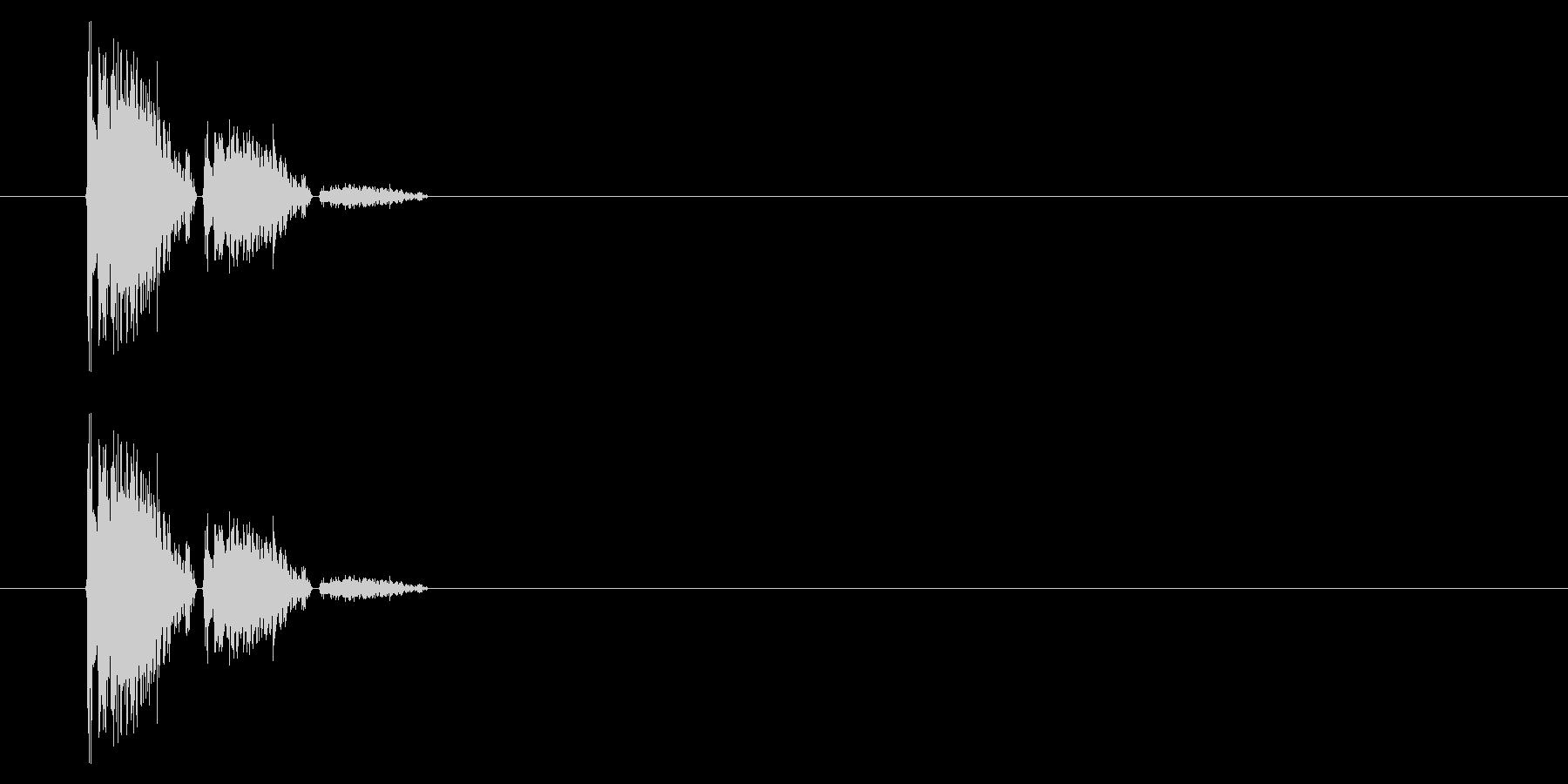 SNES 野球01-03(木製バット)の未再生の波形