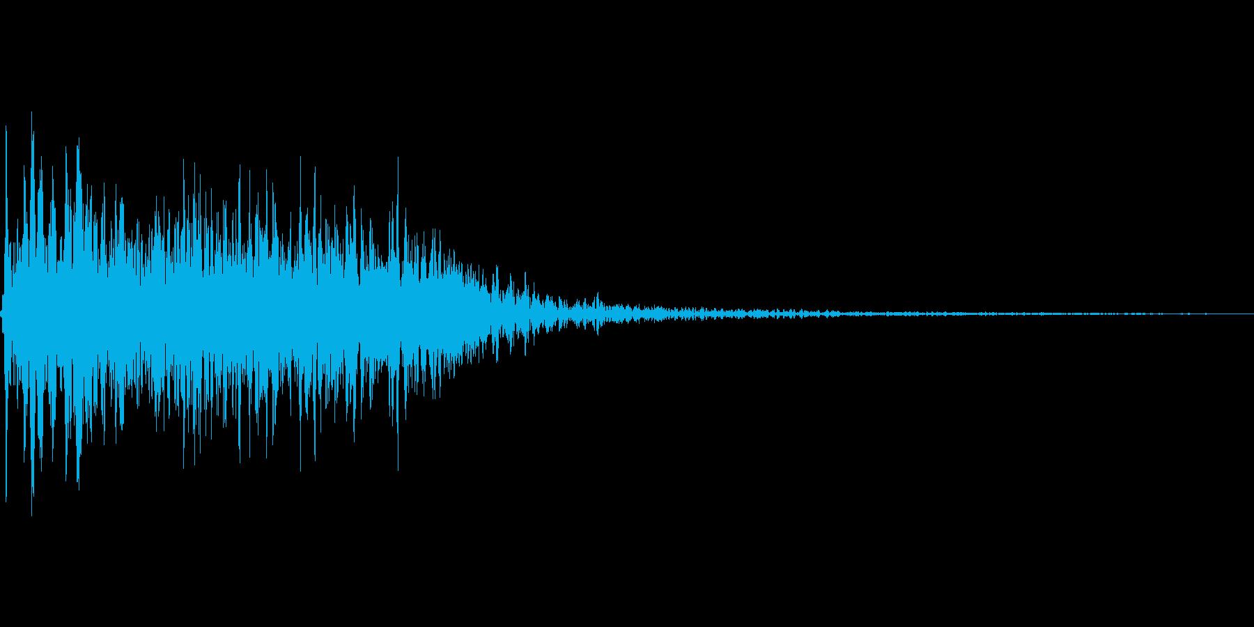 吹きすさぶ風・竜巻系の魔法(高レベル)mの再生済みの波形