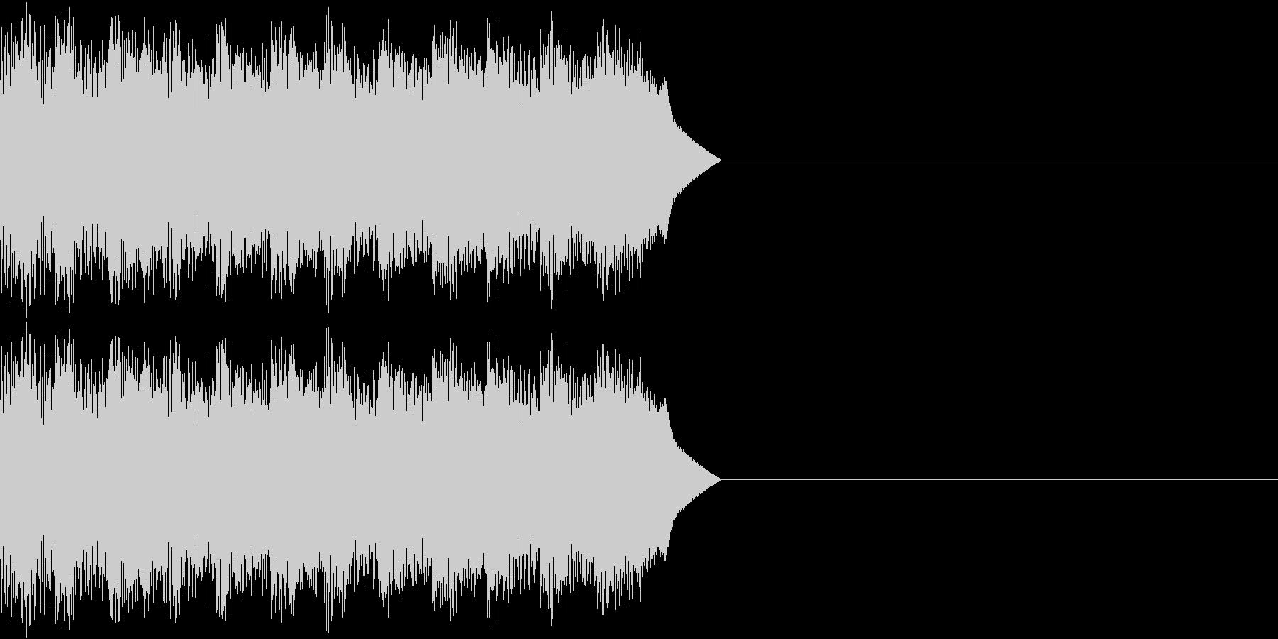 サイレン アラーム ファミコン 告知3の未再生の波形