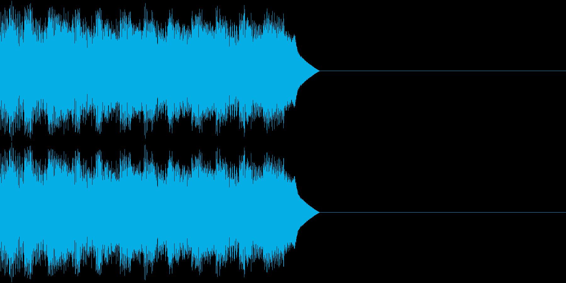 サイレン アラーム ファミコン 告知3の再生済みの波形