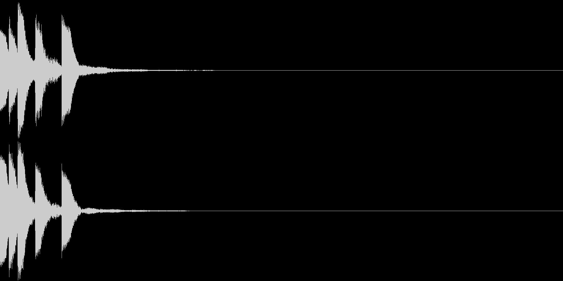 Anime ゆるかわアイキャッチ 1の未再生の波形