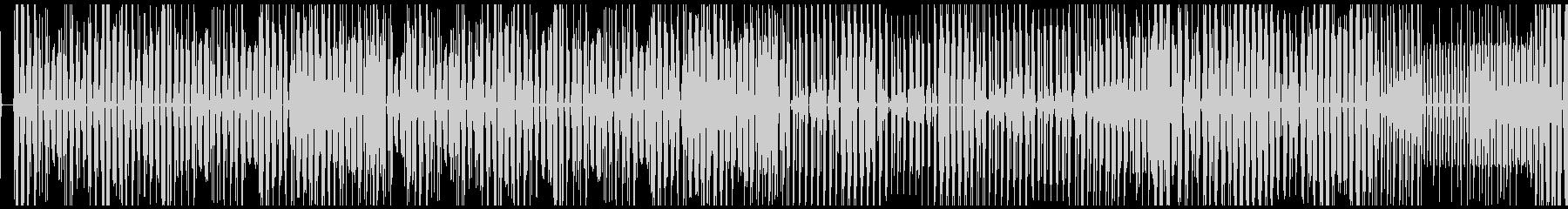 【サイバーパンクなエレクトロニカ】の未再生の波形