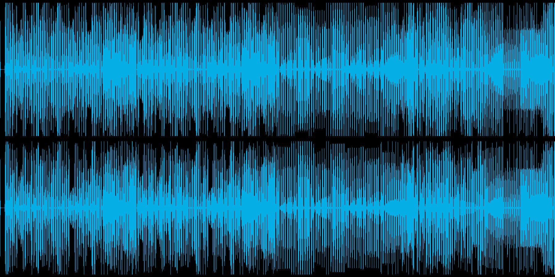 【サイバーパンクなエレクトロニカ】の再生済みの波形
