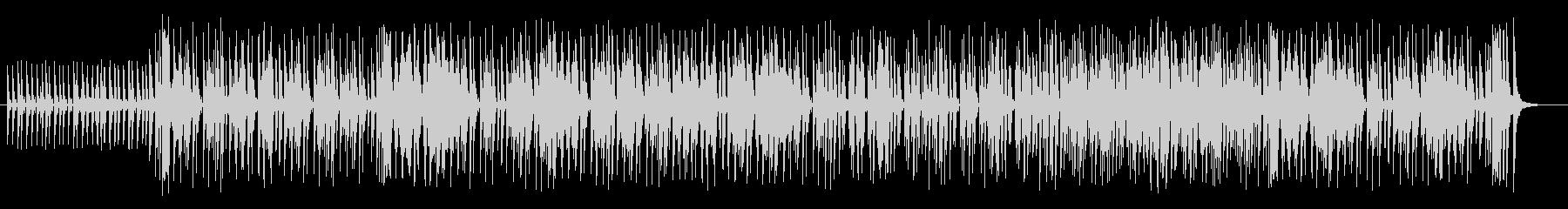 疾走感のあるシンセが特徴のフュージョン曲の未再生の波形