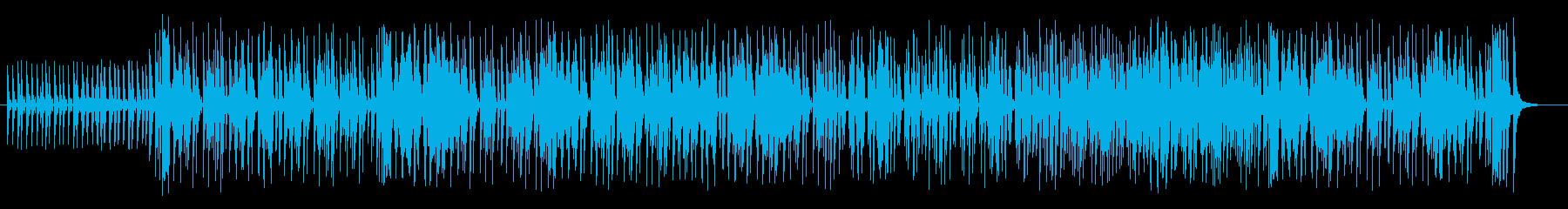 疾走感のあるシンセが特徴のフュージョン曲の再生済みの波形