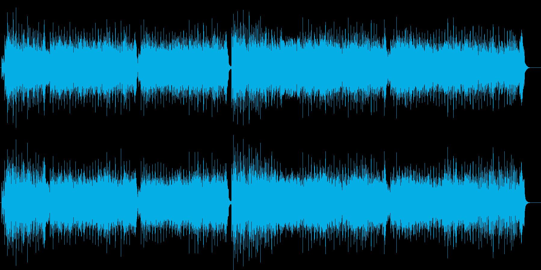 米国民謡カントリー 彼女が山にやってくるの再生済みの波形