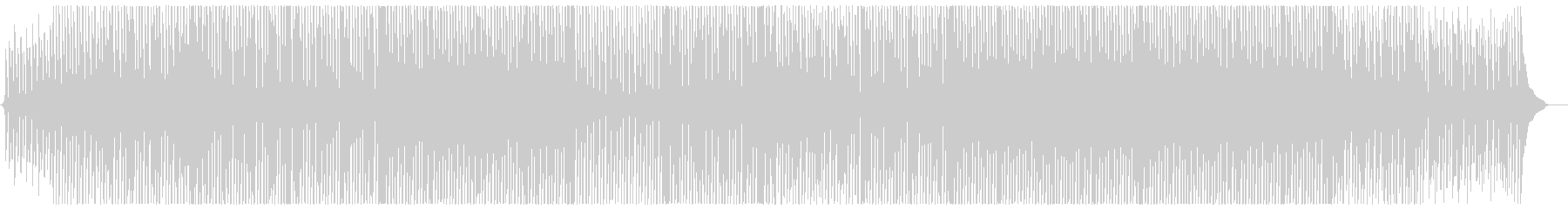 アップテンポなコンセプトムービー風の未再生の波形