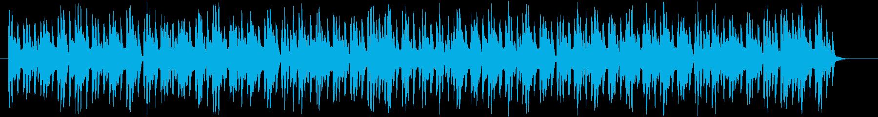 魔法がありそうな日常・異世界系BGM1の再生済みの波形