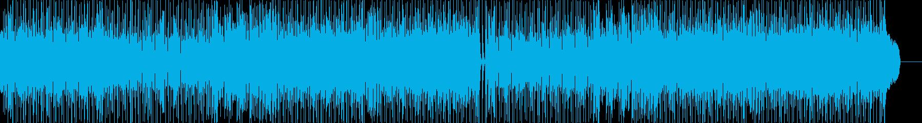 ストリングスの効いたポップスの再生済みの波形