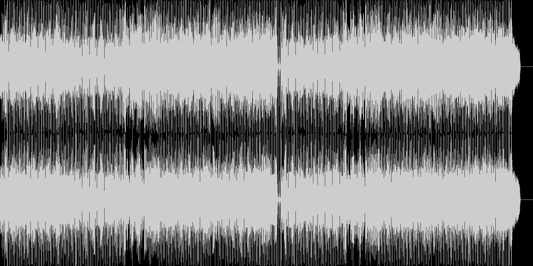 ストリングスの効いたポップスの未再生の波形