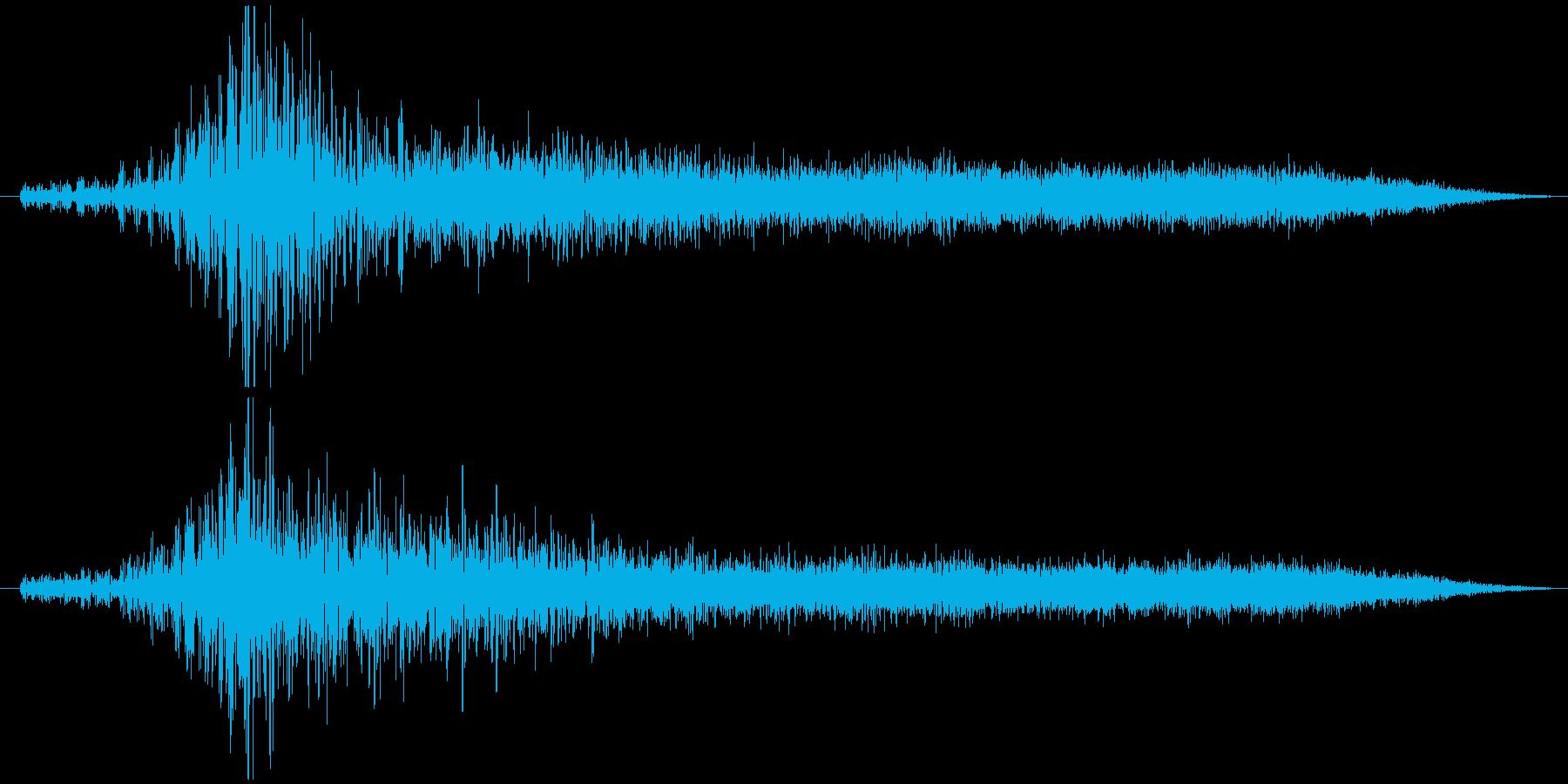 オーケストラのオープニングの再生済みの波形
