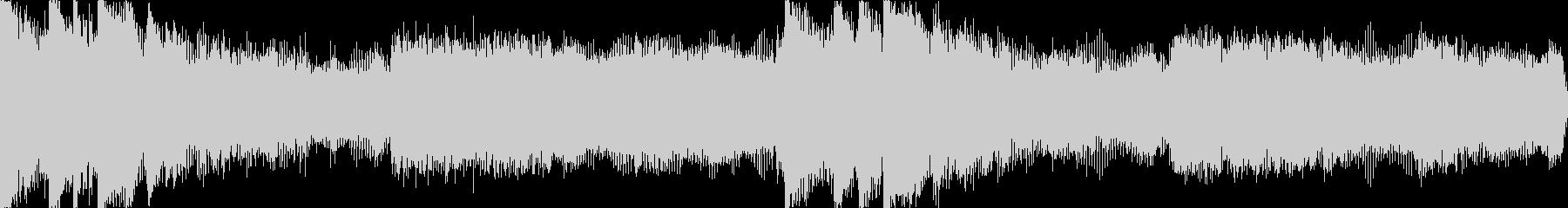 【ループA】ヘヴィーで攻撃的エレキギターの未再生の波形