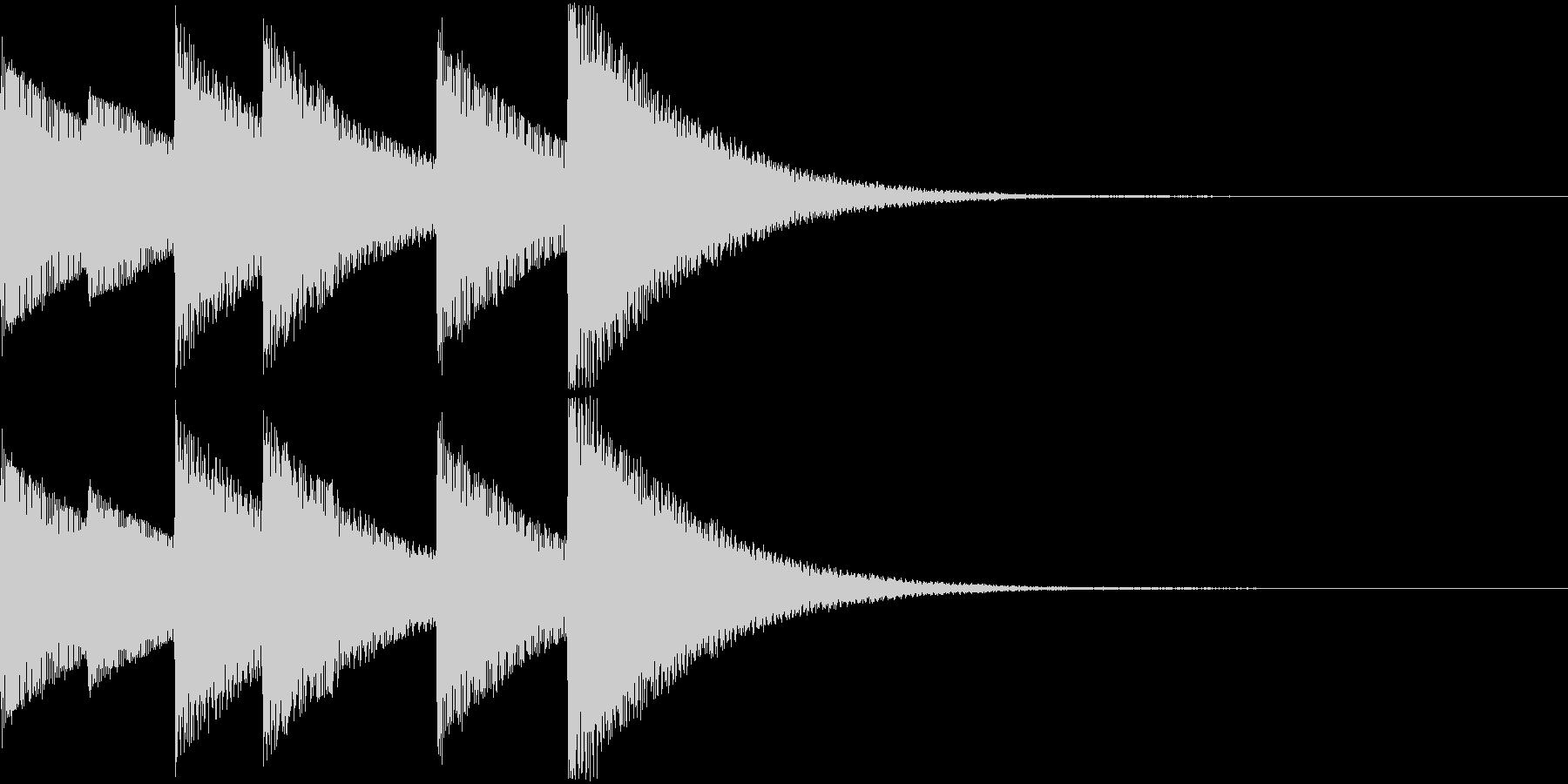 Game モンスターの進化SEの未再生の波形
