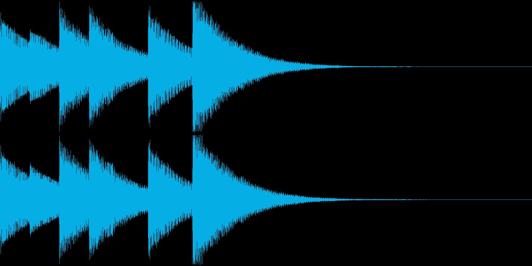 Game モンスターの進化SEの再生済みの波形