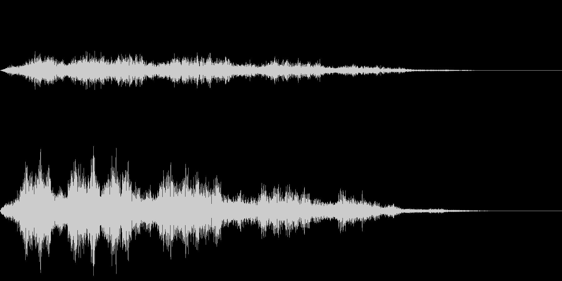 空を飛ぶ音01_シンセの未再生の波形