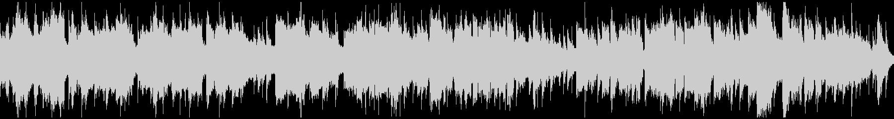温泉や和をイメージしたBGM(ループ)の未再生の波形