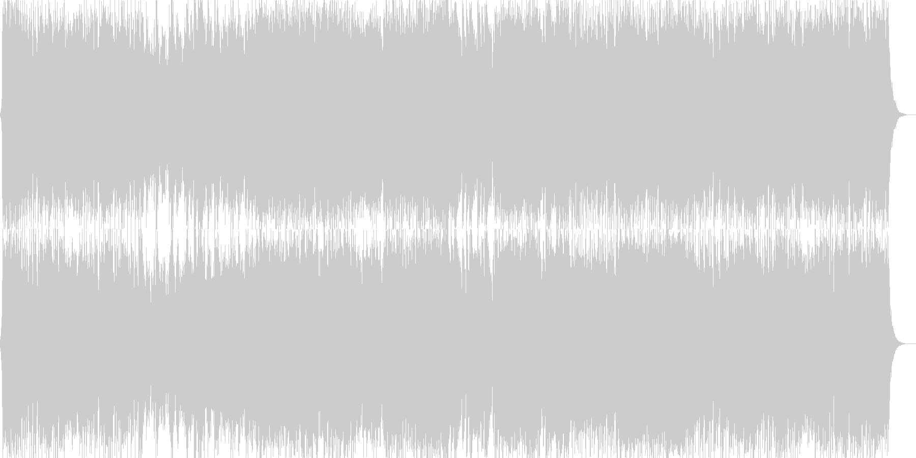 ダークファンタジーオーケストラ戦闘曲45の未再生の波形