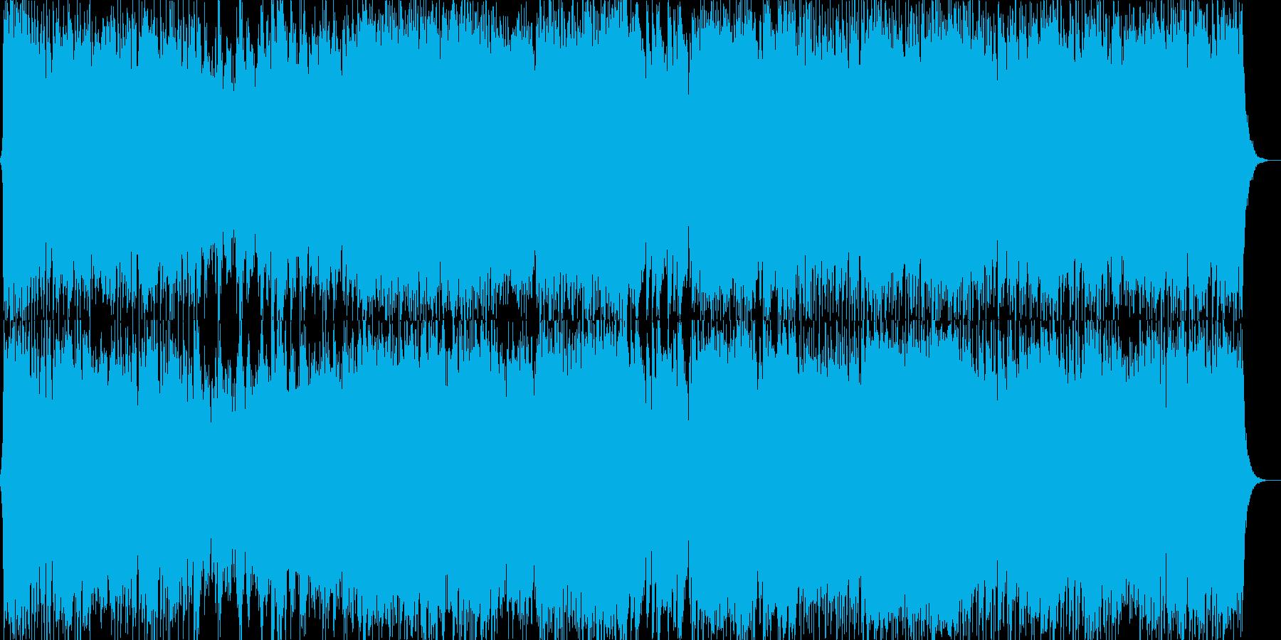 ダークファンタジーオーケストラ戦闘曲45の再生済みの波形