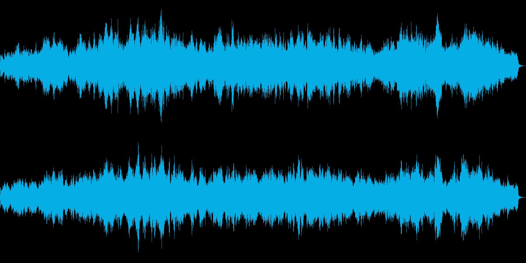 ファンタジーRPGのイベント画面をイメ…の再生済みの波形