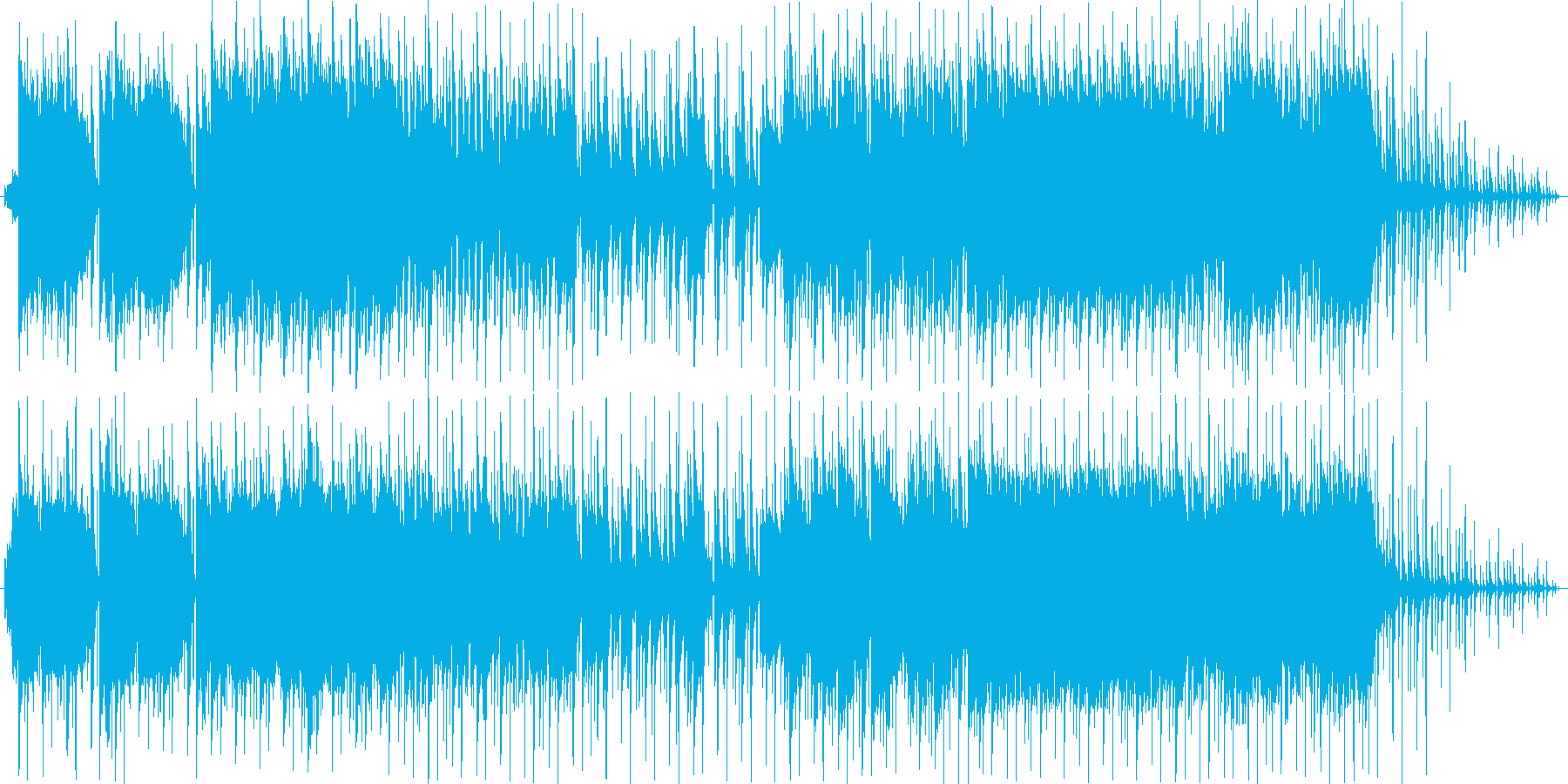中近東をイメージした民族色ある楽曲です。の再生済みの波形