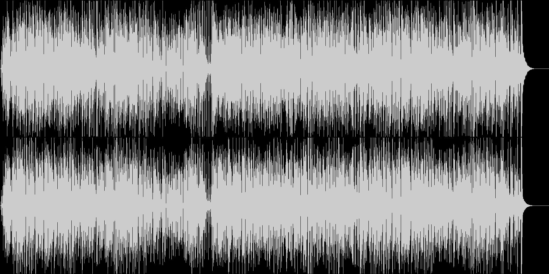 オープニング映像にジャズピアノでボサノバの未再生の波形