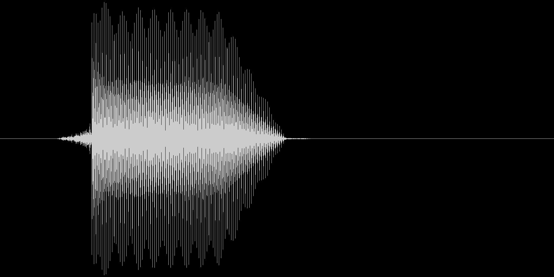 ゲーム(ファミコン風)セレクト音_017の未再生の波形