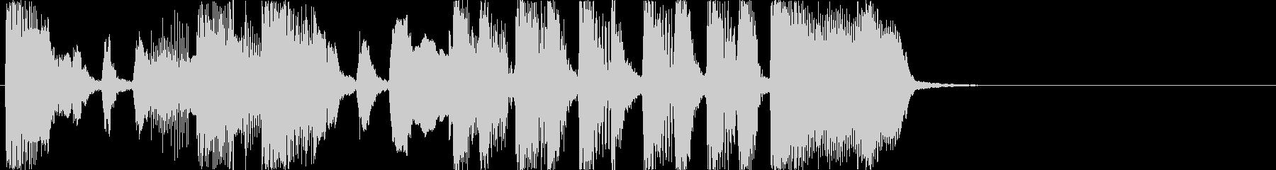おもしろジングル/オープニング1の未再生の波形