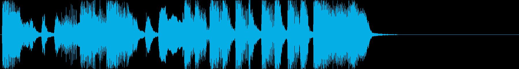 おもしろジングル/オープニング1の再生済みの波形