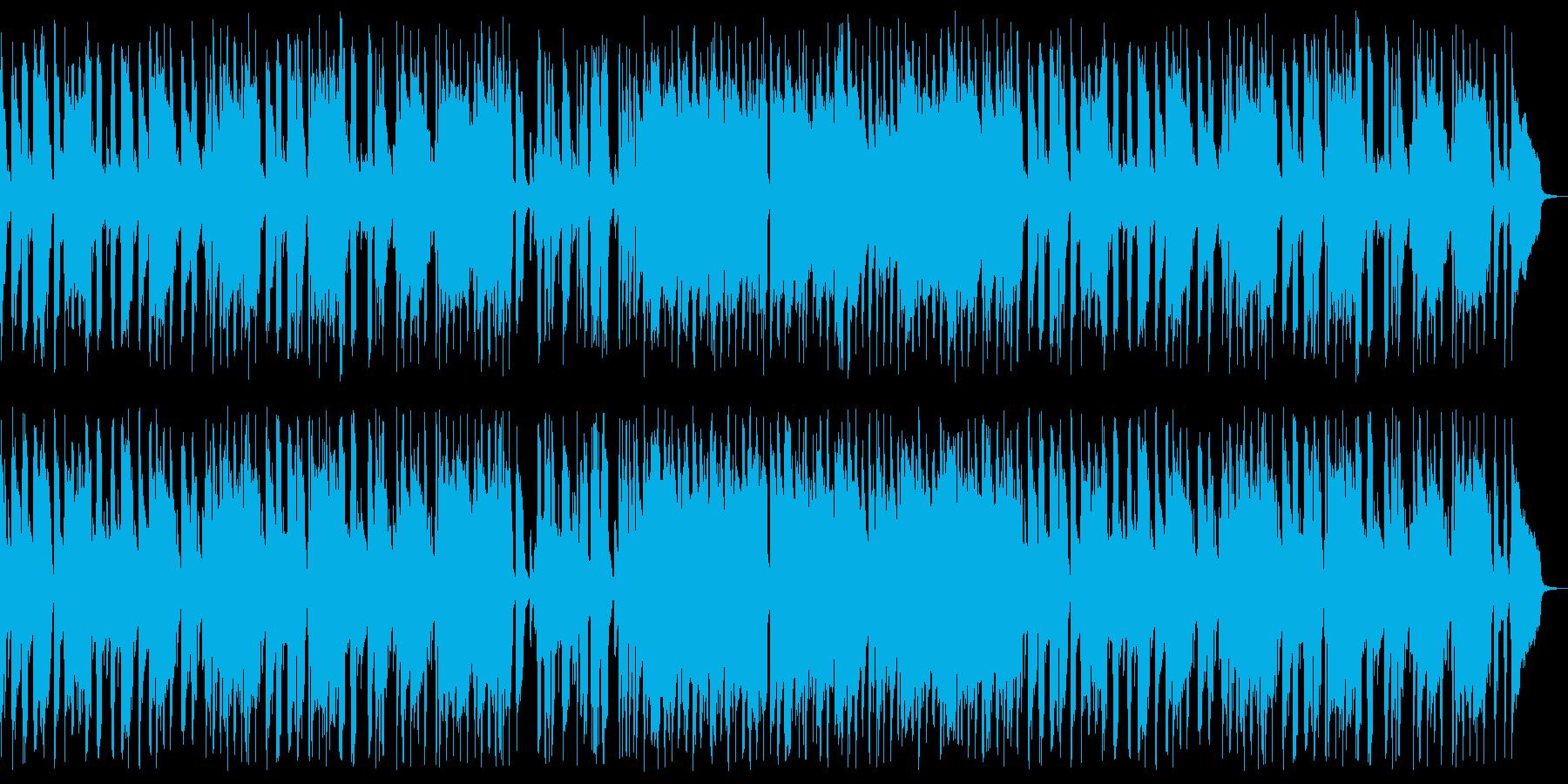 ジャズピアノ3拍子のブルースの再生済みの波形