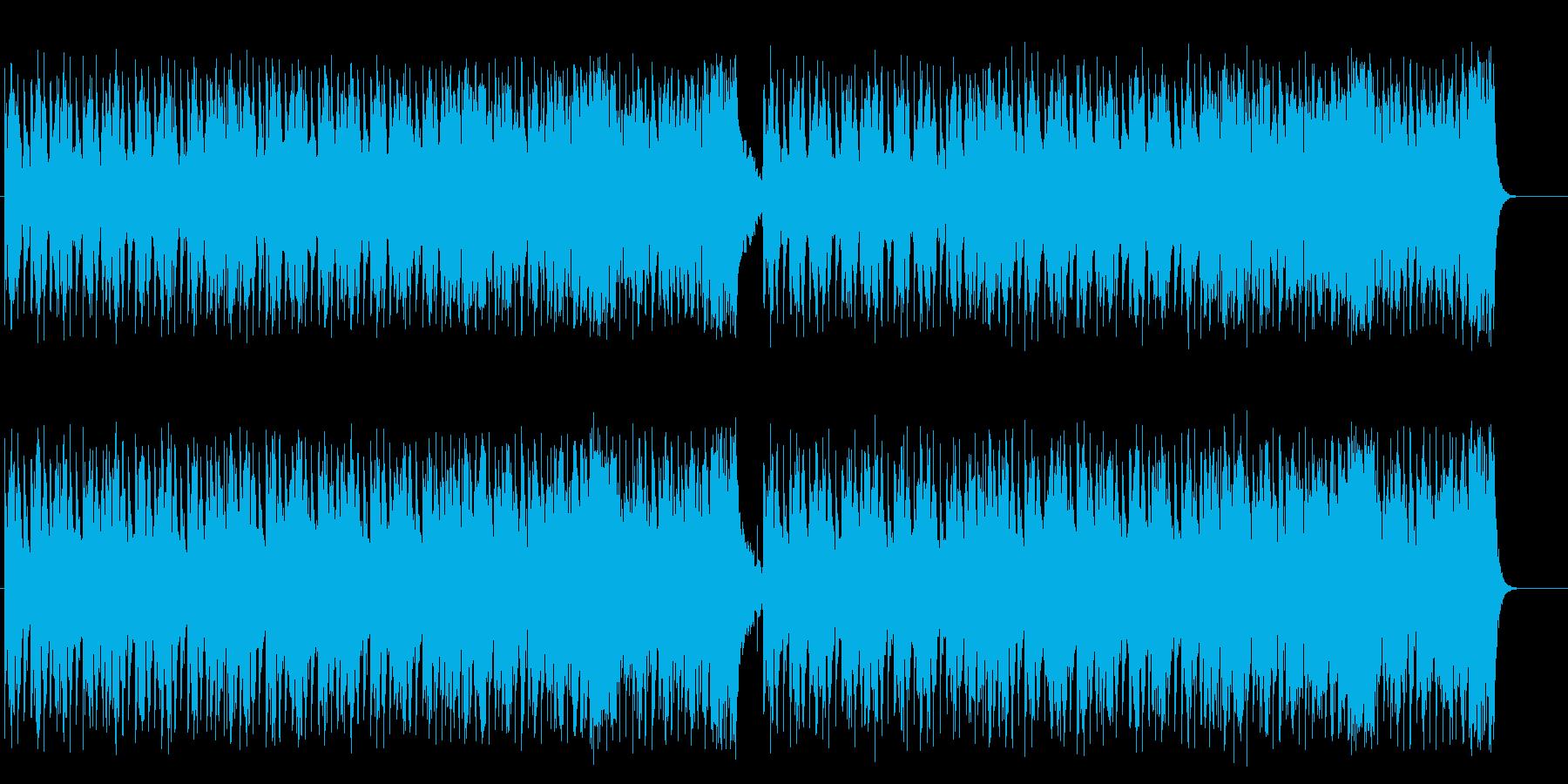重たい緊張感のマイナーフュージョンロックの再生済みの波形