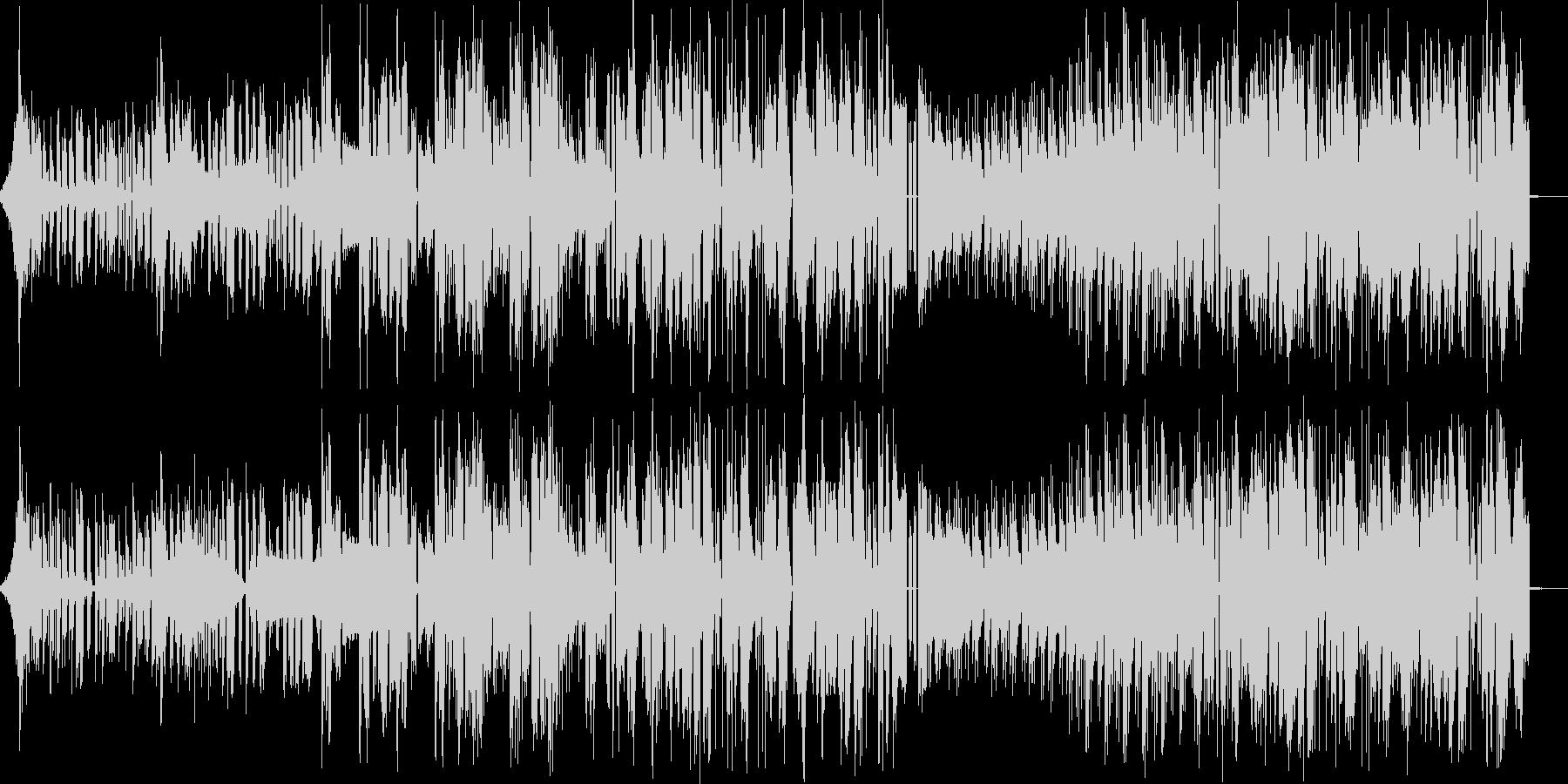 ストレス発散系ブロステップの未再生の波形