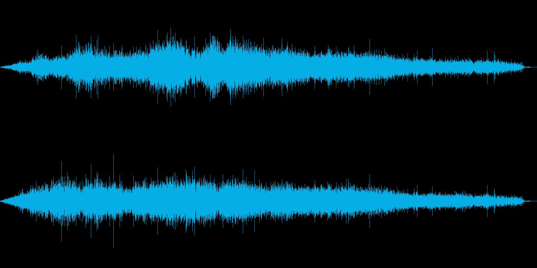 手持ち花火(シュバーッ)の再生済みの波形