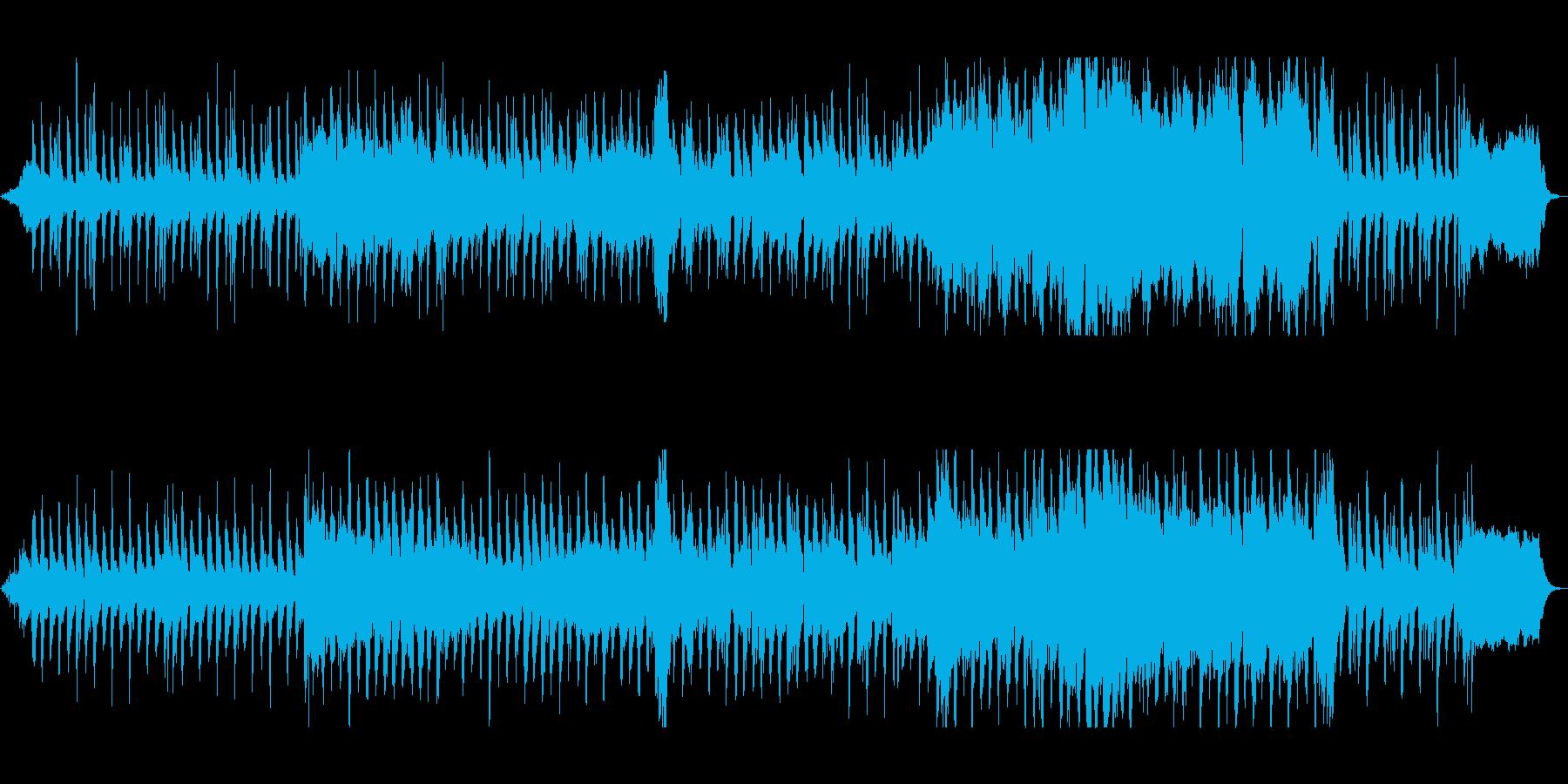 管楽器が繰り広げるハーモニーの再生済みの波形