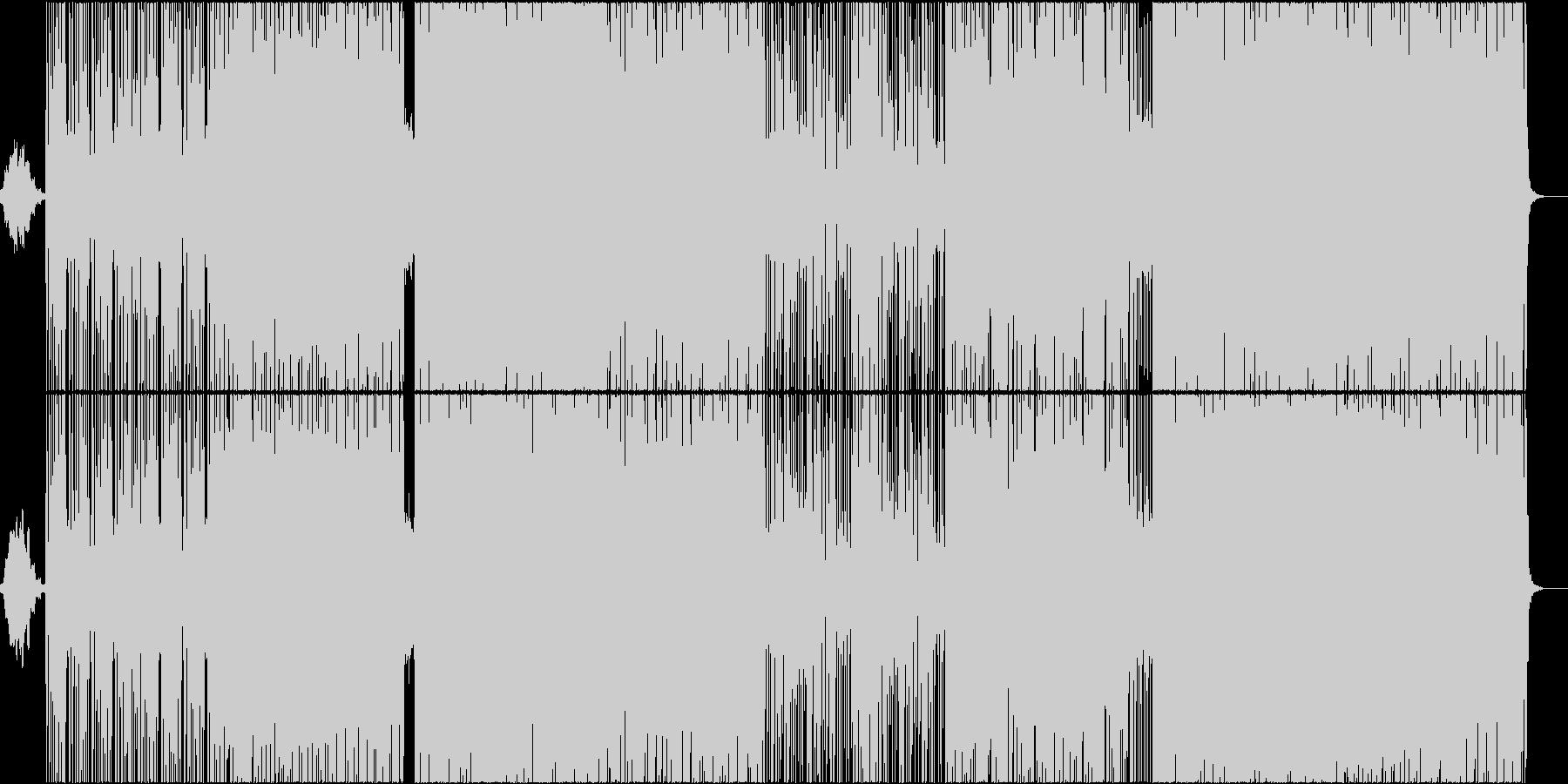 和風ヒップホップ (アップテンポ)の未再生の波形