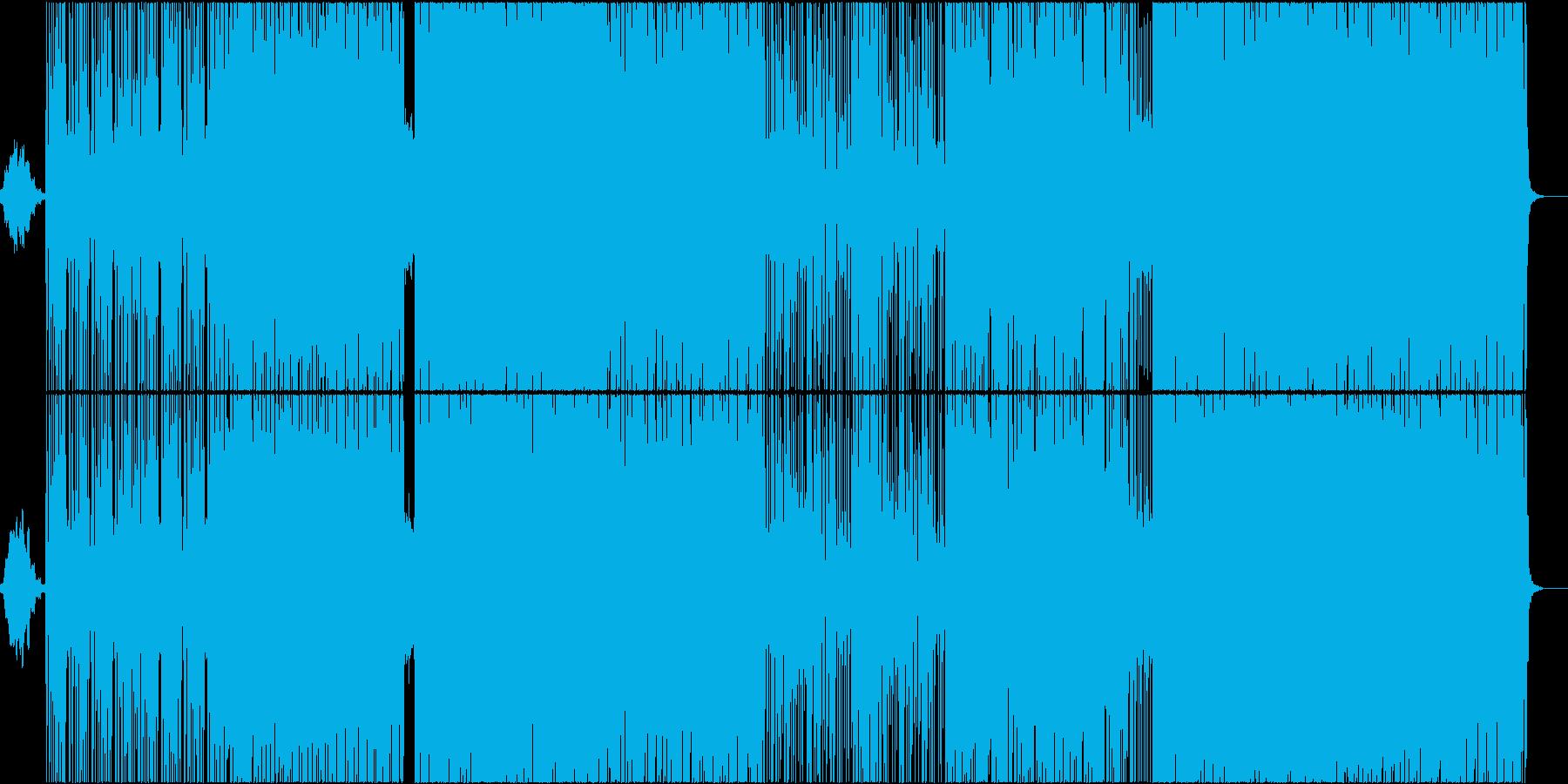和風ヒップホップ (アップテンポ)の再生済みの波形