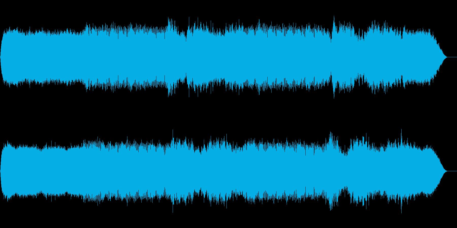 スペイシーなアンビエント(シンプル)の再生済みの波形