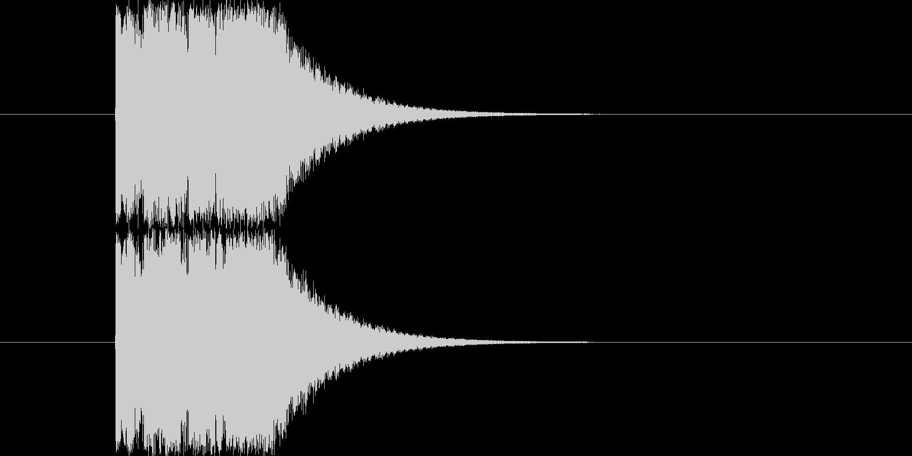 Synthで作成したオーソドックスなウ…の未再生の波形