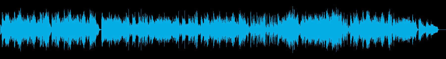 夜の大人の憂いをビブラフォンのポップスでの再生済みの波形