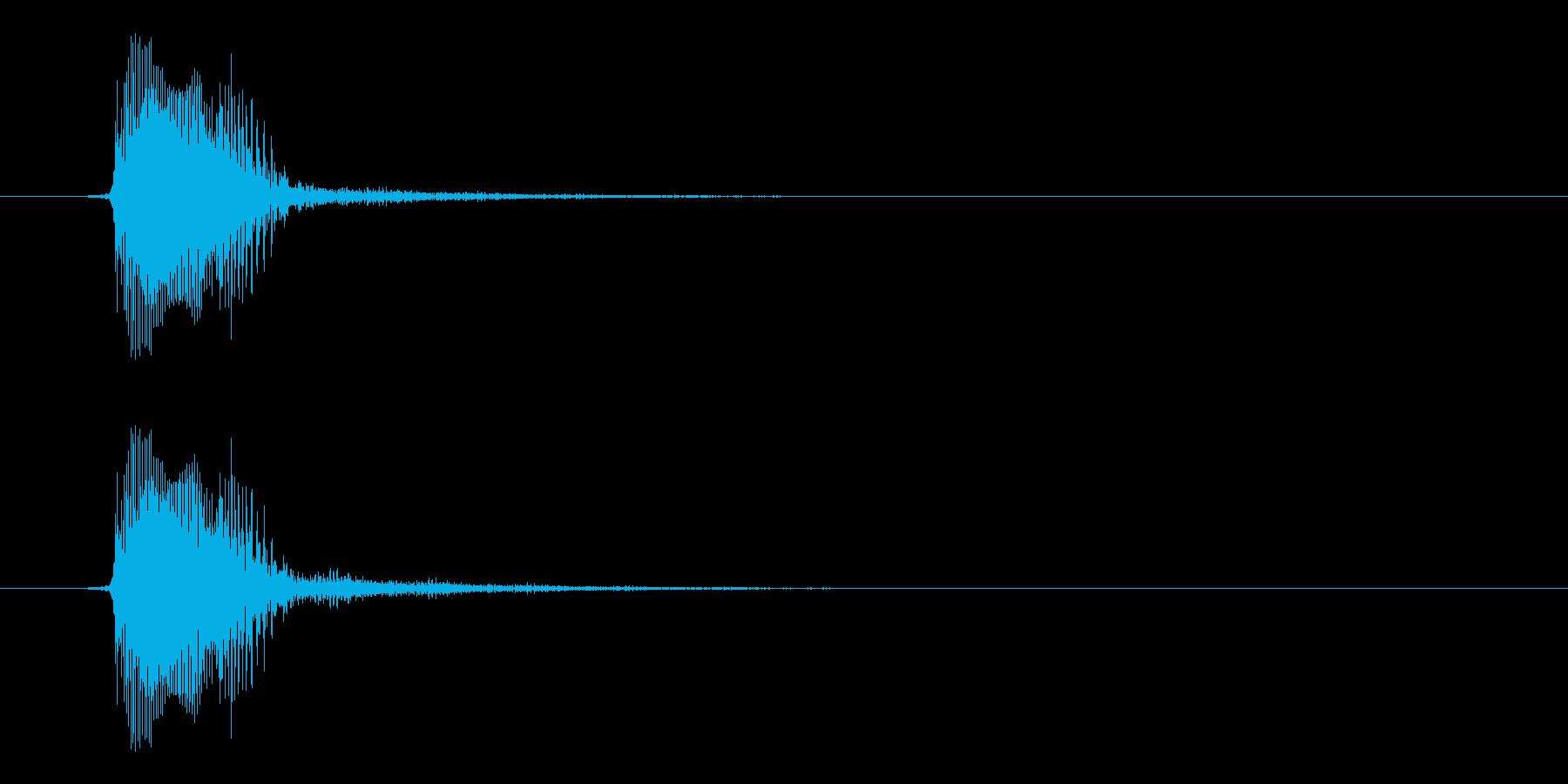 宇宙人ボイス的効果音。かわいい系。の再生済みの波形