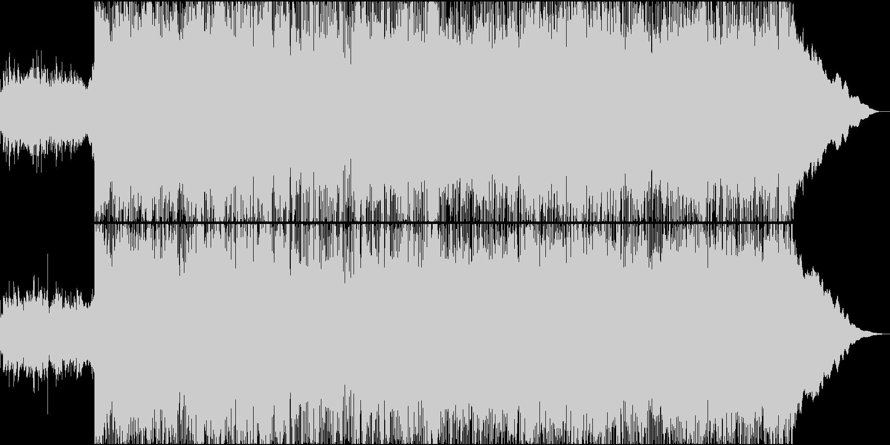 メタルロック/喧嘩シーンBGM/悪者登場の未再生の波形