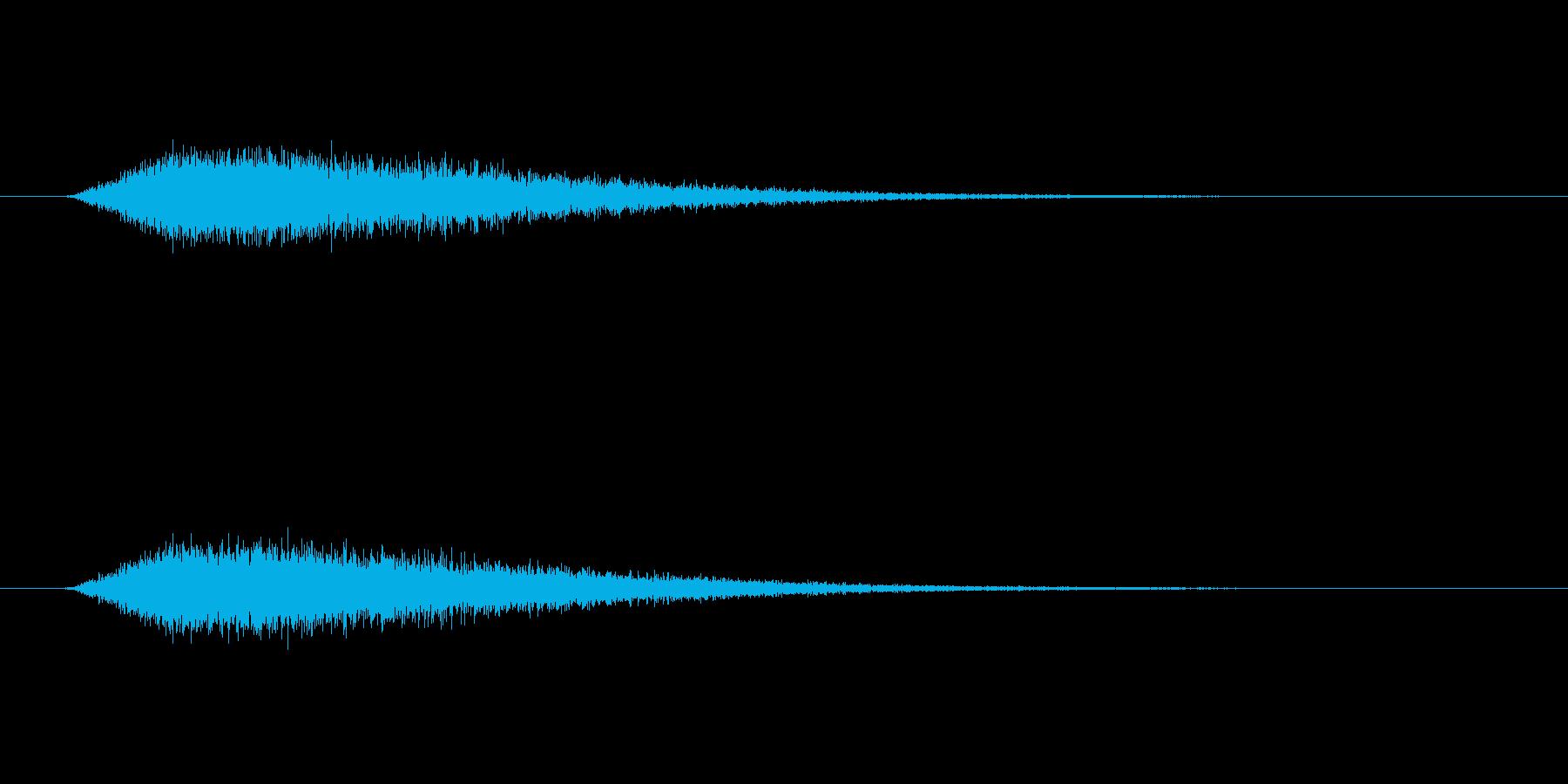 【ショートブリッジ31-1】の再生済みの波形