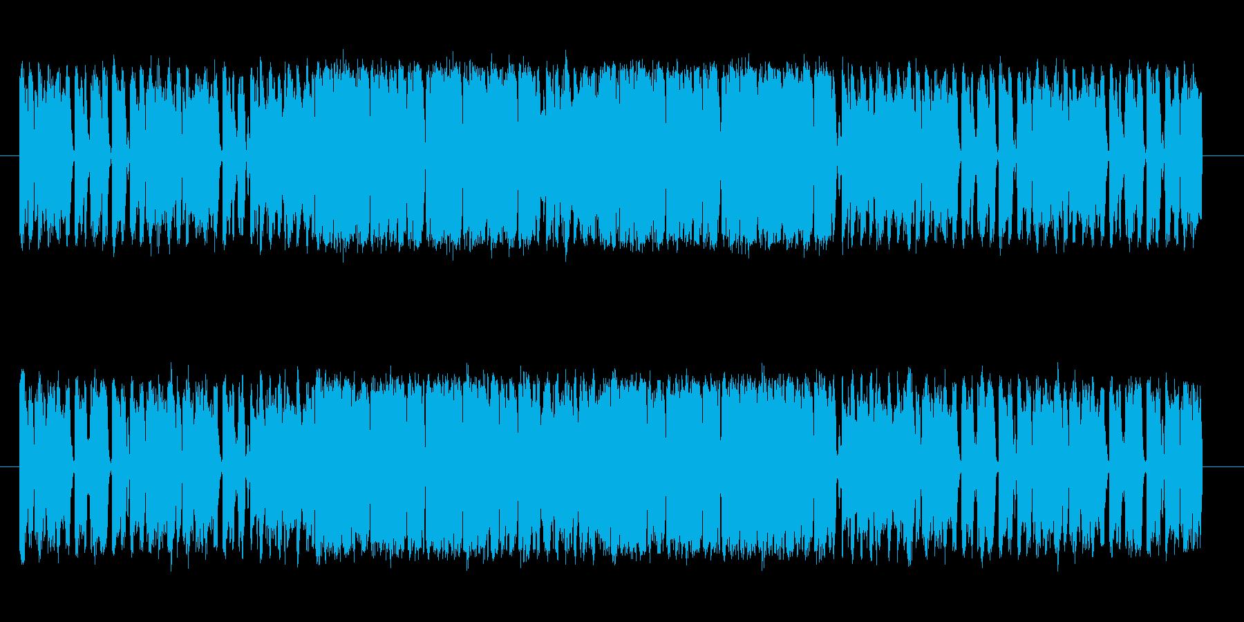 家電製品のCMなどインパクトをつけたい…の再生済みの波形