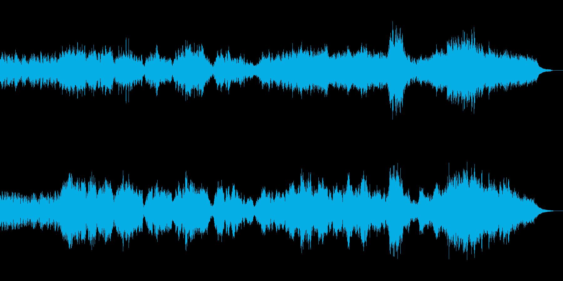 グノーのアヴェ・マリア、ピアノとチェロの再生済みの波形
