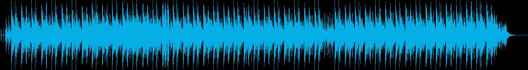 広がりのあるメロウなシンセが印象的な曲の再生済みの波形