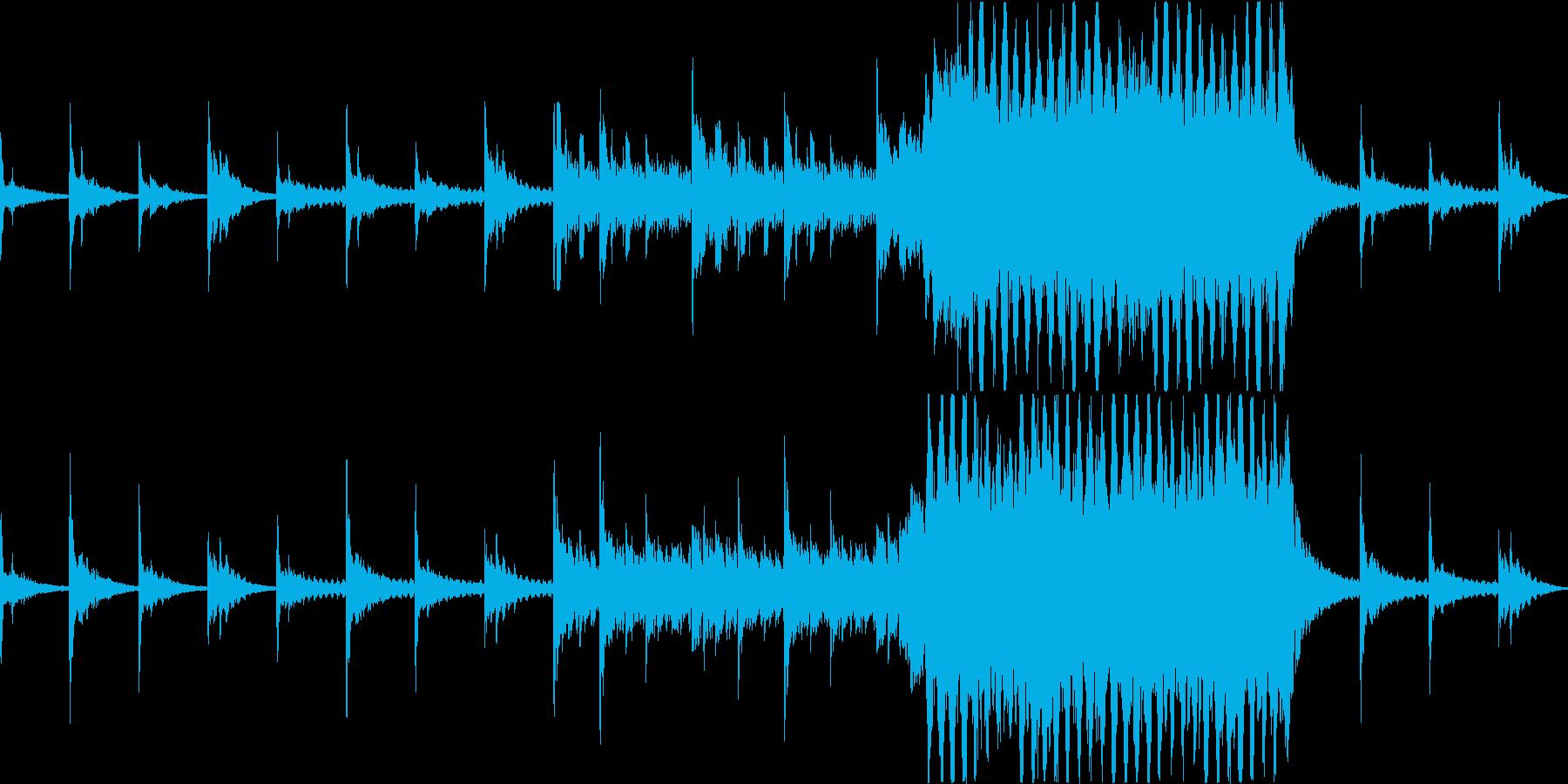【ループ版】終末感漂うホラー、ダーク系のの再生済みの波形