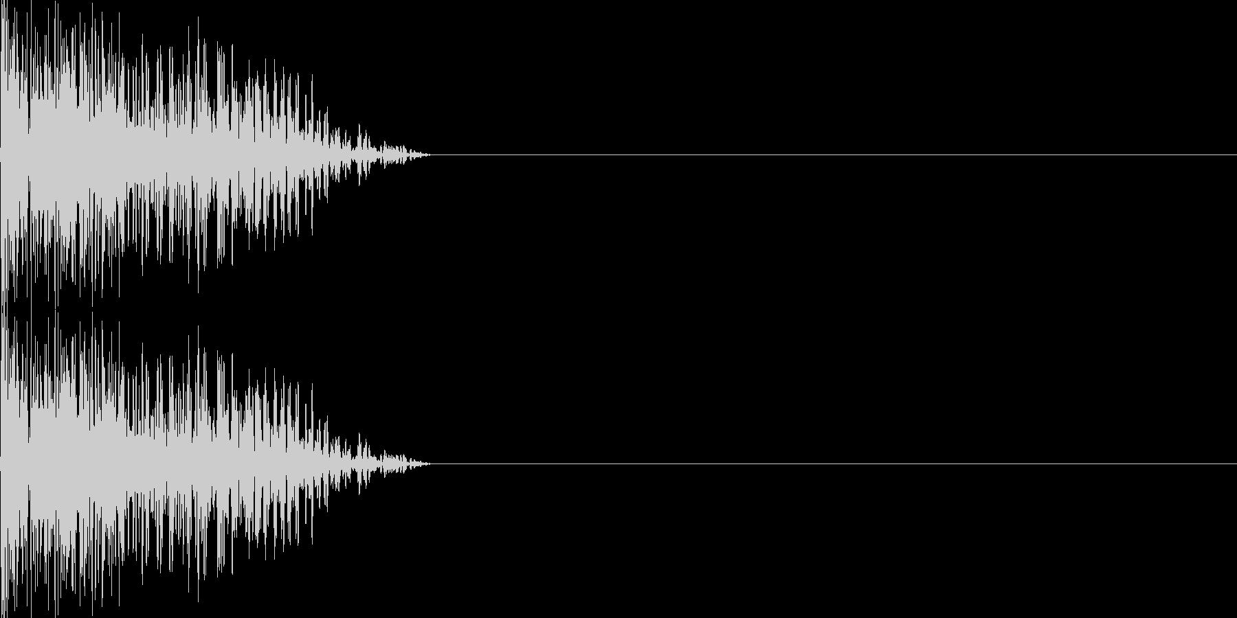 攻撃音06(重規模の銃)の未再生の波形