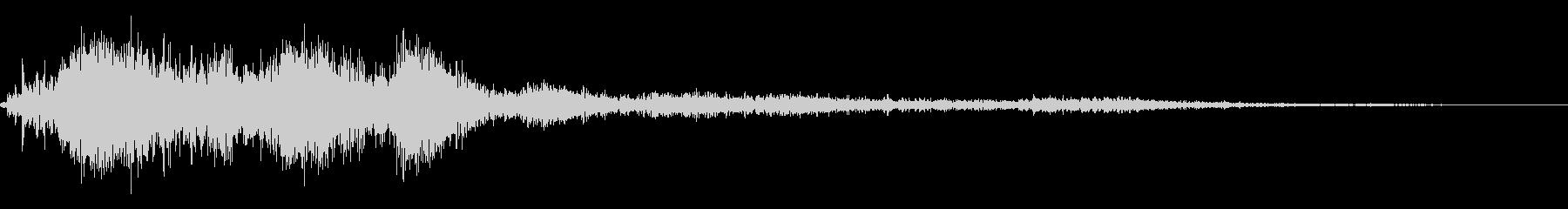 ホラー系導入音_その7の未再生の波形