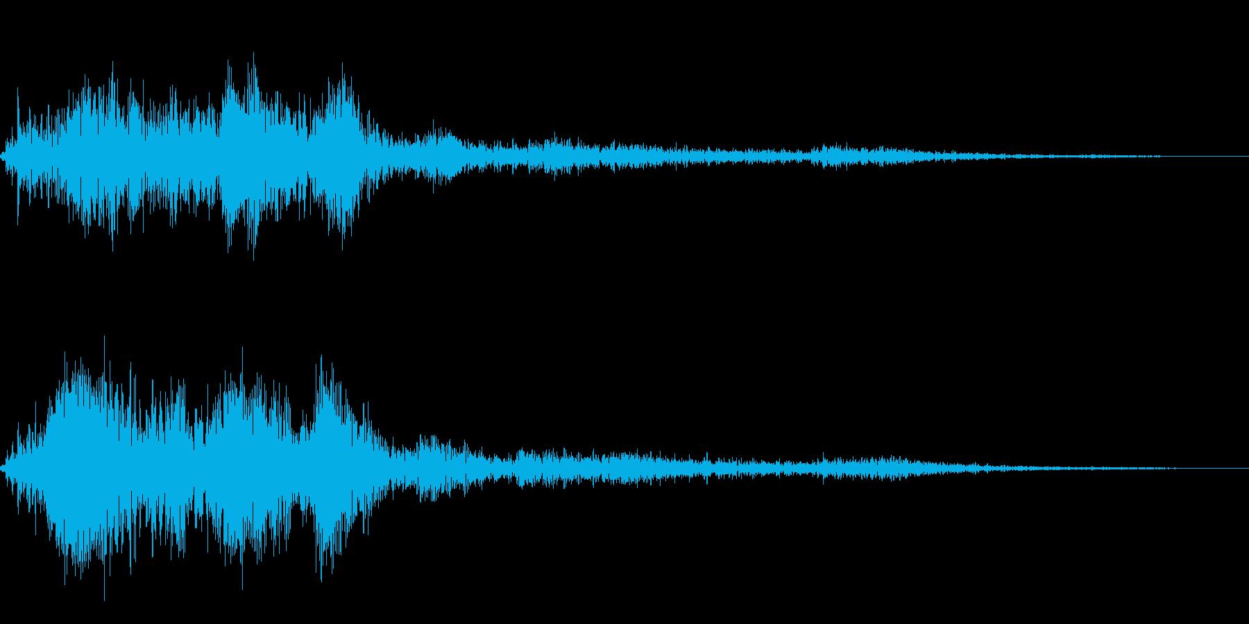 ホラー系導入音_その7の再生済みの波形