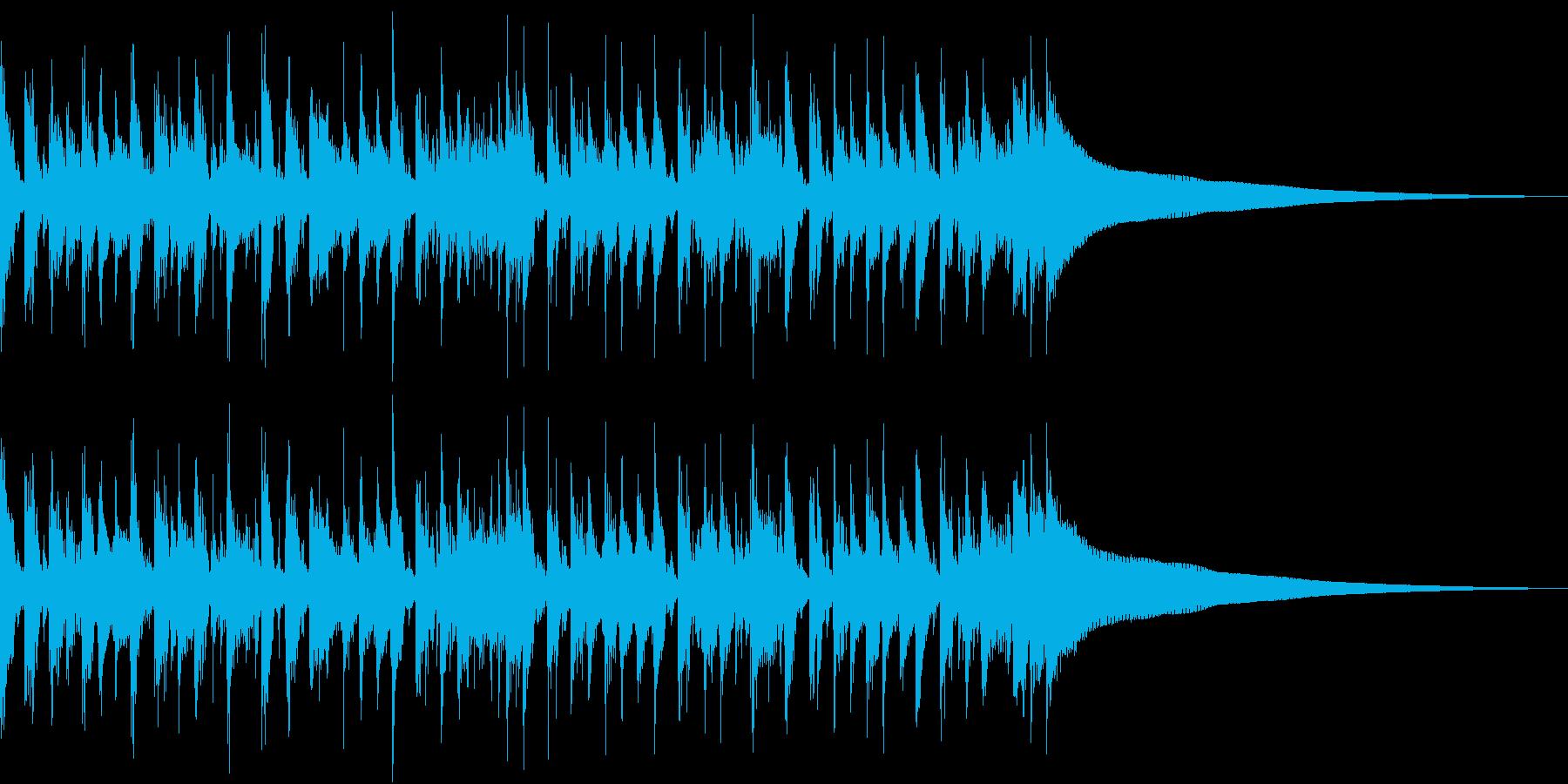 テレキャスターのカッティングの再生済みの波形
