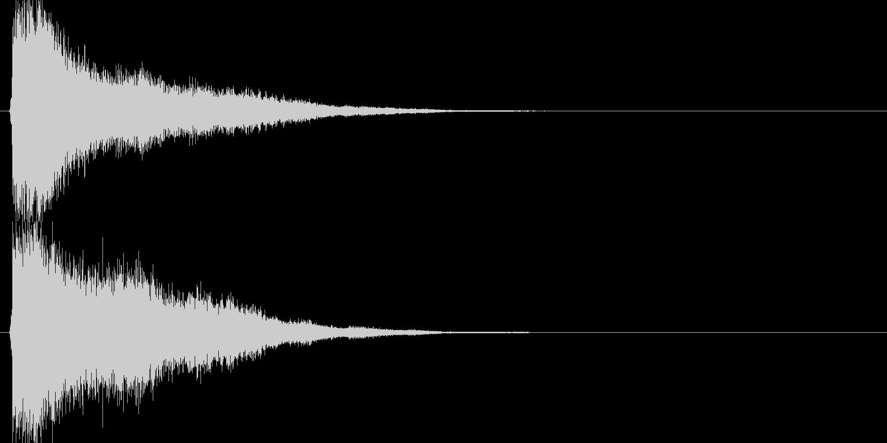 テュインイーン↑(スピードUP、STG)の未再生の波形